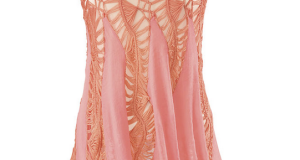 handkerchief hemline blouse