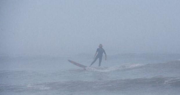 hurricane surfing