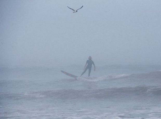hurricane surfing