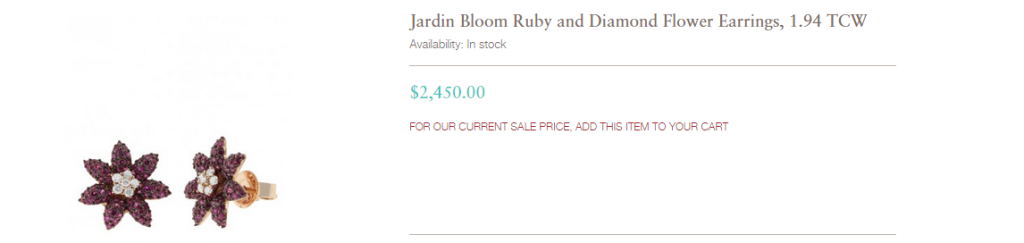 flower blooming earrings